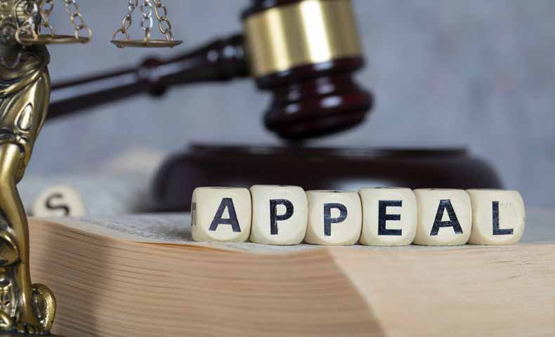 appeal(上告する・控訴する)