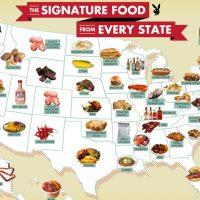 アメリカの州を代表する食べ物