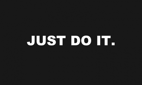 Nike:just do it