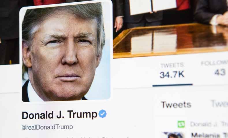 トランプ大統領のツイッターの特徴・名言