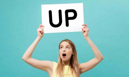 強調の「up」の使い方(eat upやclean upなど)