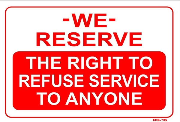 we reserve the right