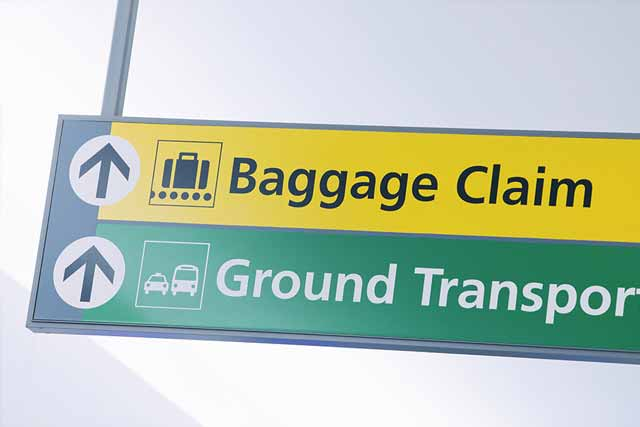 baggage claim(バゲッジクレーム)