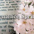 sentence spring(センテンス・スプリング)は英語としてどうか?
