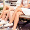 foot / leg / heelなど足に関連する英語表現