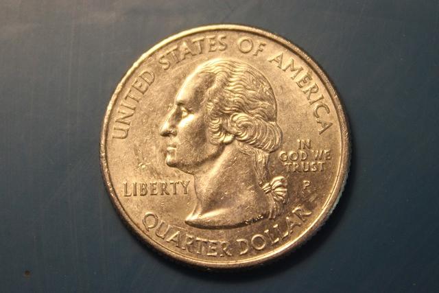 クオーターのコイン