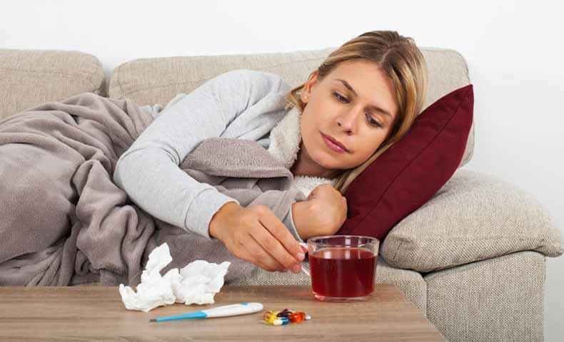 coldの風邪の意味での使い方