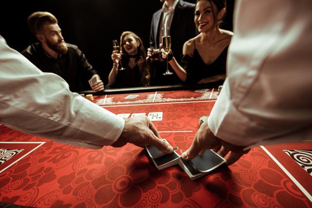カジノの客