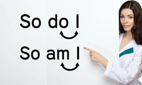 So am I