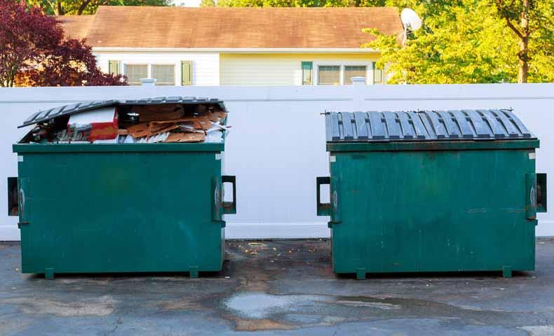 dumpster(巨大ごみ箱)