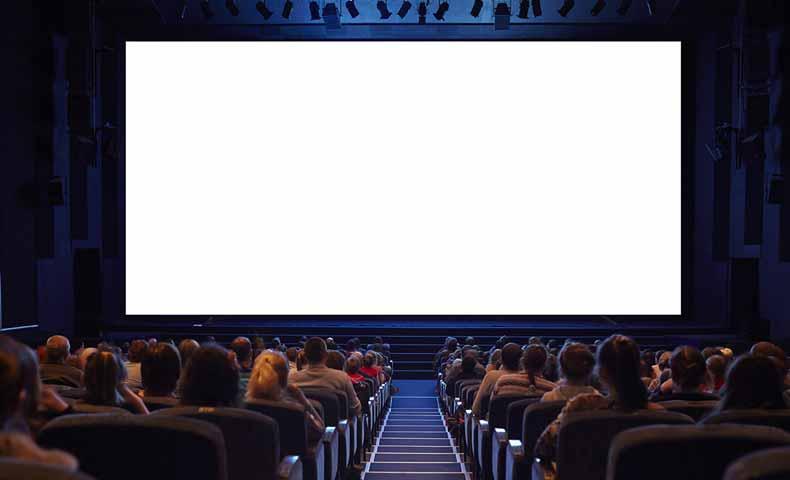 映画のスクリーン