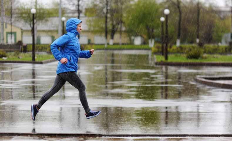 小雨・にわか雨の英語
