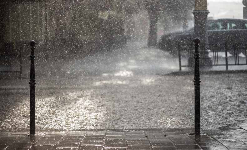 大雨の英語