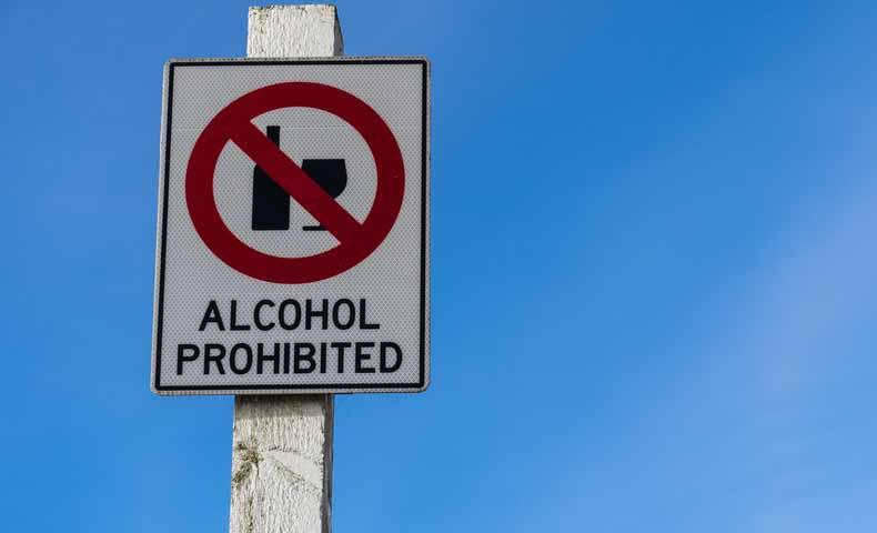 prohibited(形容詞)