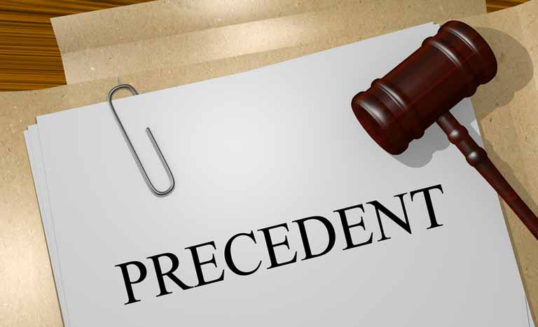 precedentの意味と使い方