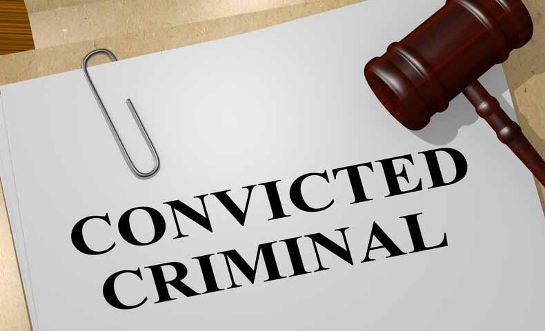 convicted(形容詞)の意味と使い方