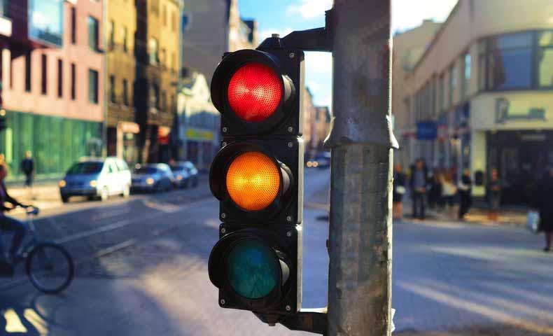 交通信号は英語でどういうか?