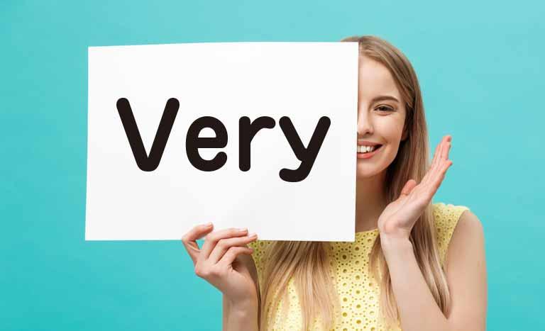 名詞を修飾するveryの使い方(形容詞のvery)