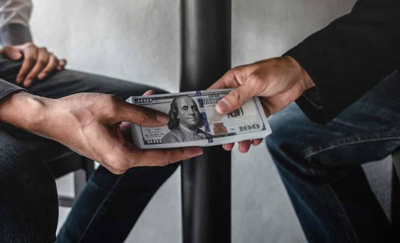 bribeとbriberyの違い