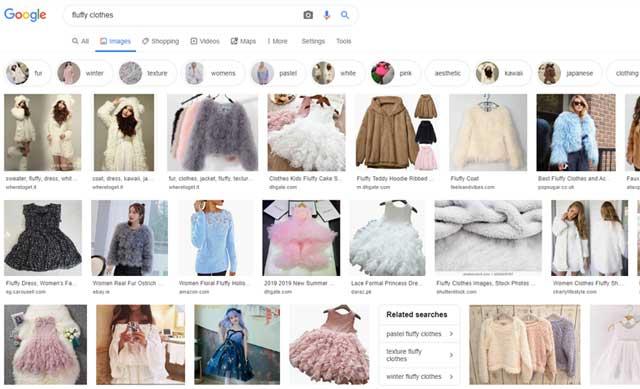 「fluffy clothes」での検索結果