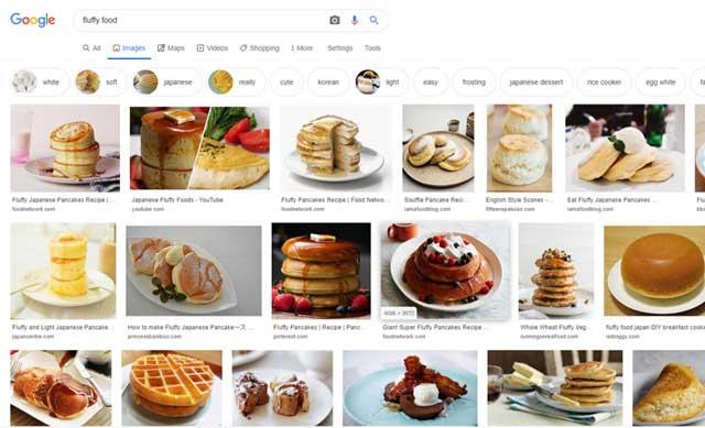 「fluffy food」での検索結果