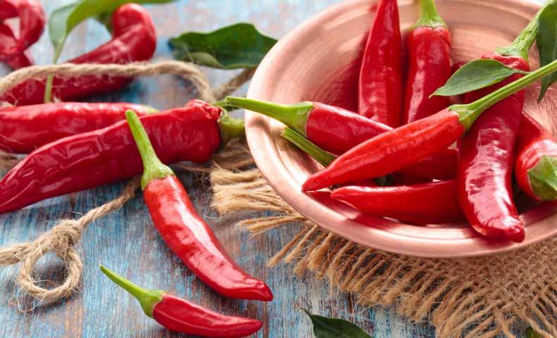 唐辛子はchili pepper(チリペッパー)