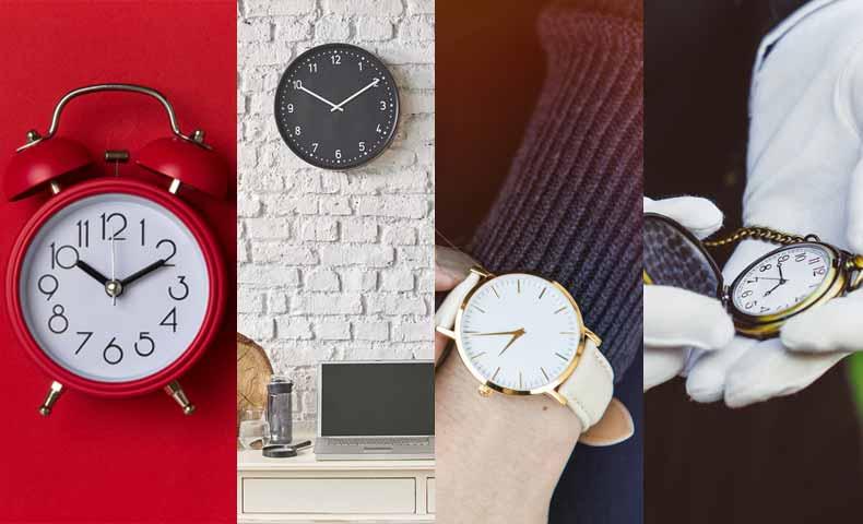 ウォッチ(watch)とクロック(clock)の違い