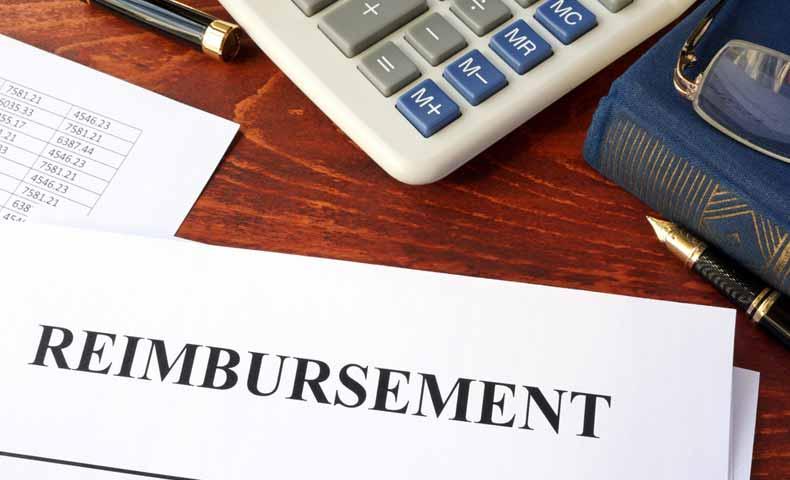 reimburseの意味と使い方
