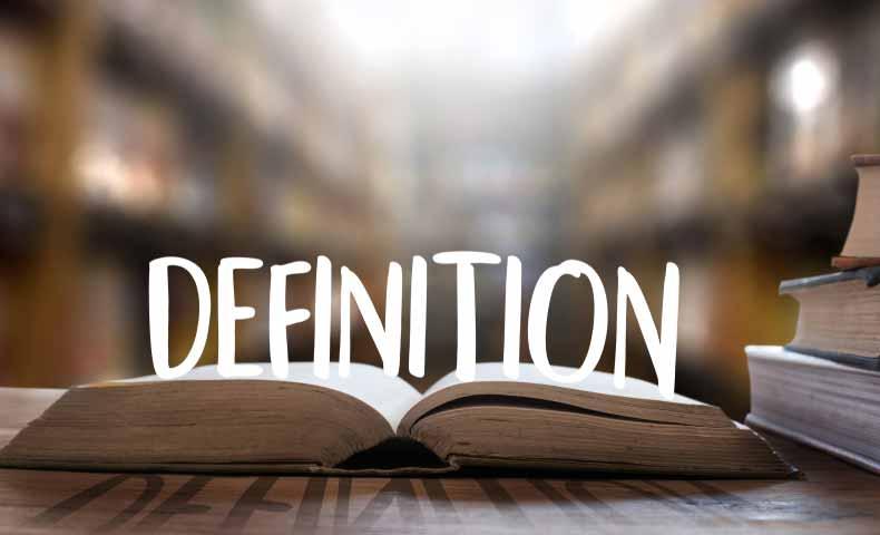 definitionの意味と使い方