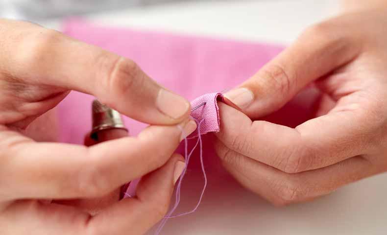 動詞のstitch「縫う、縫い合わせる」