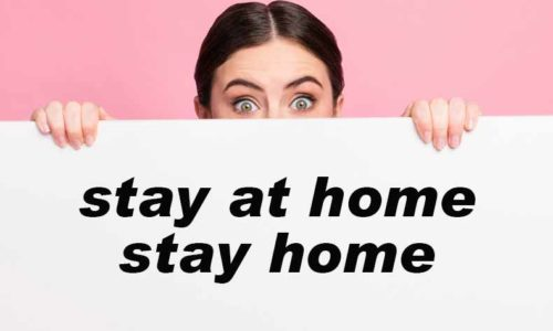 「stay at home」と「stay home」の違い