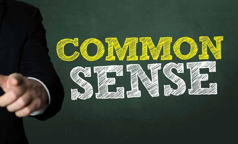 common sense(コモンセンス)とは?