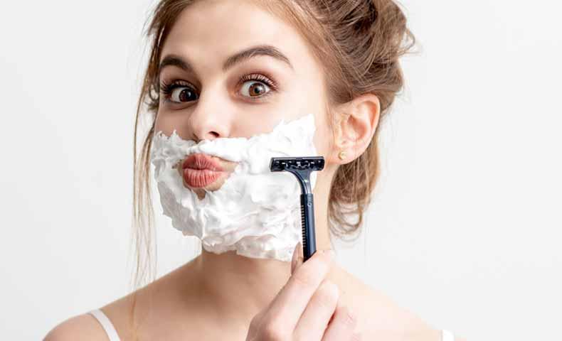 shaveの動詞での使い方
