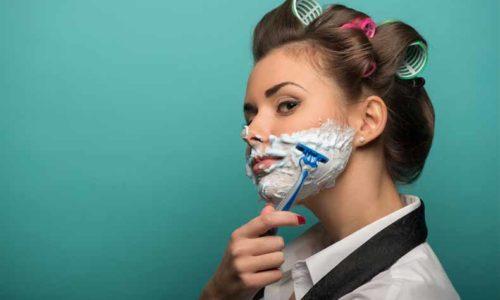 shave(剃る)の意味と使い方