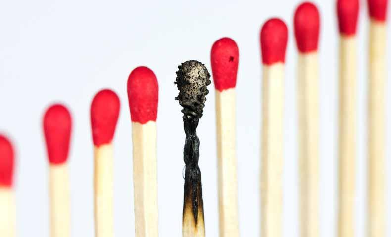 burn outの意味と使い方